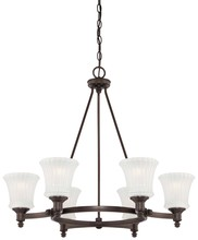 Minka-Lavery 4306-647 - 2012 CHANDELIER 6 LIGHT HAYVENHURST