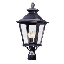 Knoxville 3 Light Outdoor Post (VX4T)