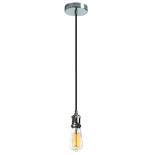 Dainolite 409-42P-SC - 1LT Pendant, Satin Chrome Finish