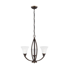 Sea Gull Canada 3113203-715 - Three Light Chandelier