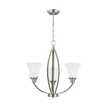 Sea Gull Canada 3113203-962 - Three Light Chandelier