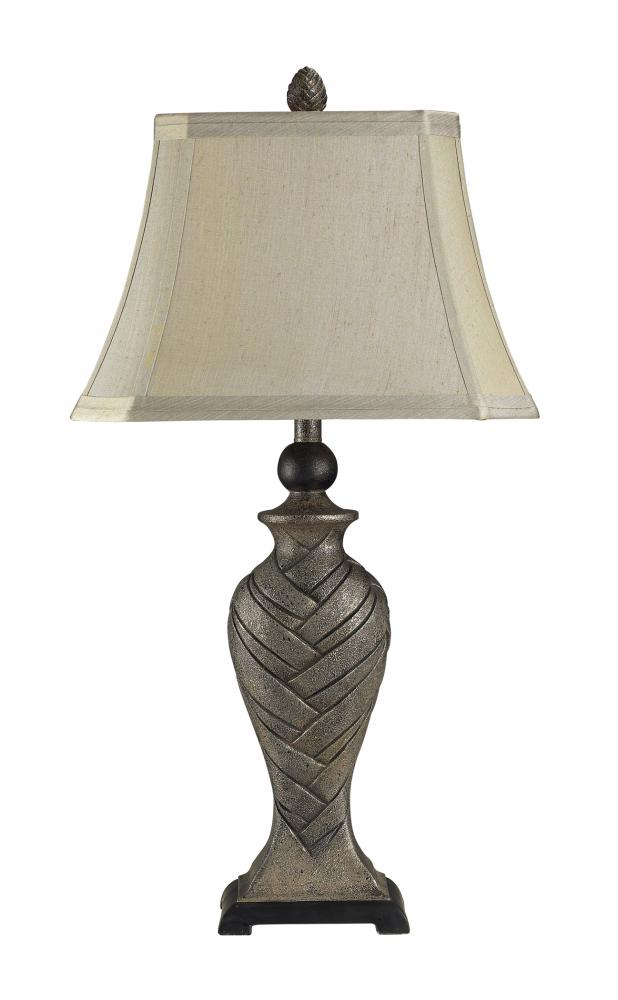 Kirkland Silver Table Lamp