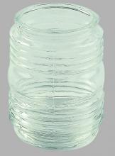 "Amlite G29 - Replacement Jam Jar Glass for 3-1/4"" Fitter"
