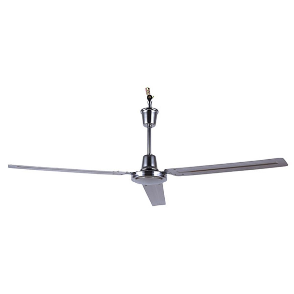 "Industrial Fan, CP56CH, 56"" Loose Wire Fan with 4-speed wall control and J-hook Mount (For Ceili"