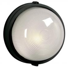 Galaxy Lighting 305111 BLK - Cast Aluminum Marine Light - Black W/ Frosted Glass